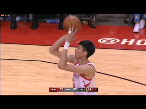 Zhou Qi NBA Preseason Game 2 vs Shanghai Sharks HIGHLIGHTS
