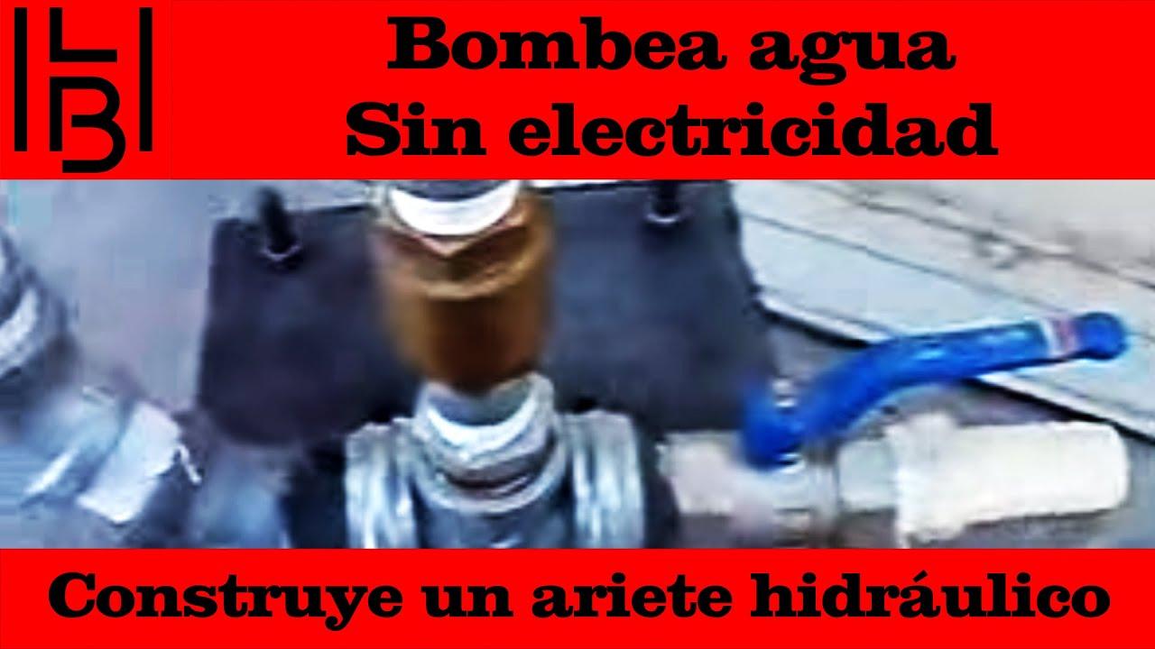 Bombea agua sin electricidad construye un ariete - Como calentar un piso de forma economica ...