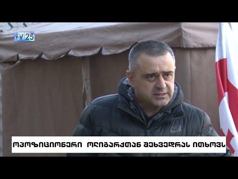 Лидер партии «SAXE+» Эднар Багратиони требует встречи с Иванишвили