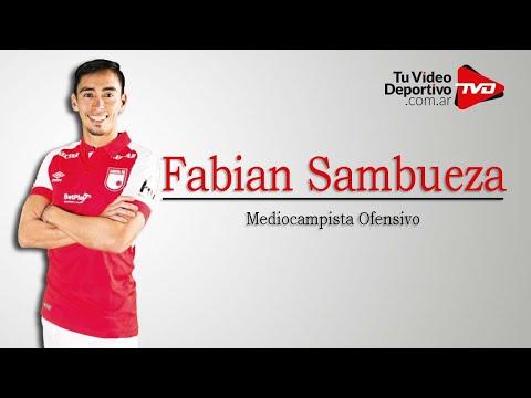 Fabian Sambueza | Mediocampista Ofensivo