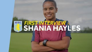 First Interview | Shania Hayles