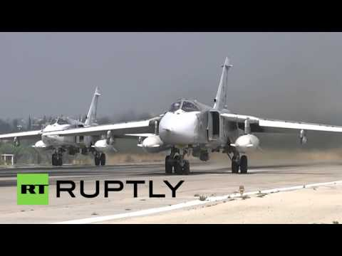 Syria: Russian Sukhoi jets continue airstrikes against militant positions