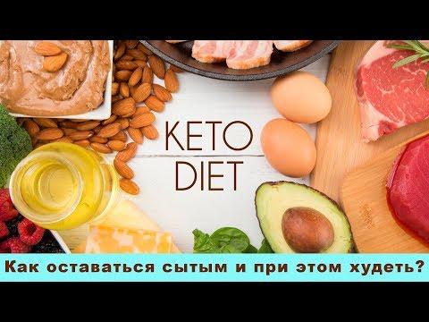 Кето-диета - обоснование эффективности. Как оставаться сытым и при этом худеть?