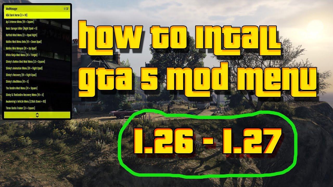How to install gta 5 MOD LOADER 1 27+ // February 2016