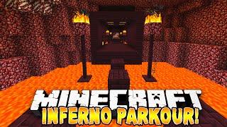 Minecraft - INFERNO PARKOUR! (Epic Jumps!) w/Preston & Kenny