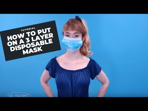 3 Layer Disposable Protective Masks