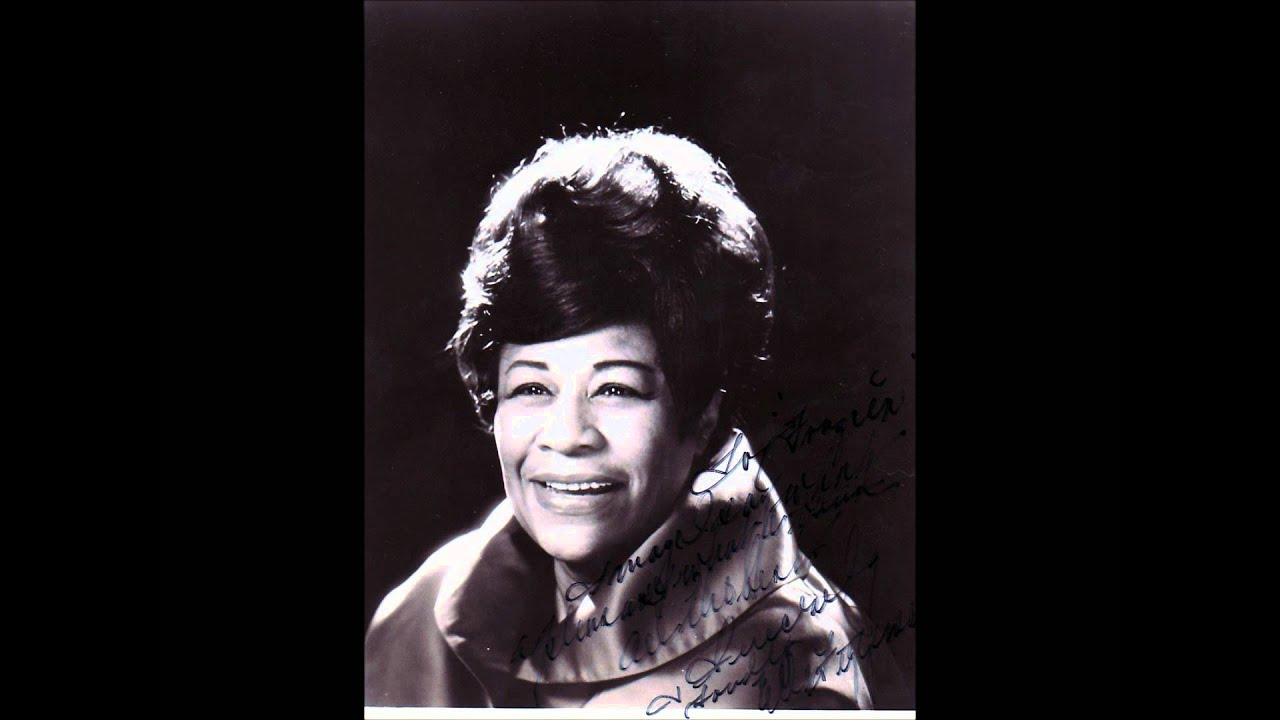 """Ella Fitzgerald """"Someone to Watch Over Me"""" - YouTube"""