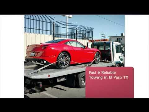 Elebtero Tow Truck El Paso TX - 24HR Towing Service