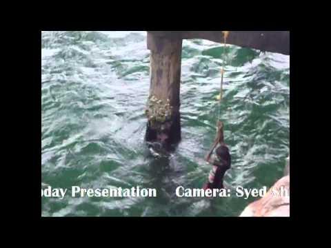 Boy jumps to sea at Valiyathura pier