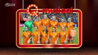 vrouwenvoetbal de q musical mattie wietze