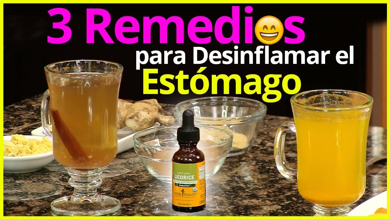 Remedios caseros para bajar de peso rapido y desinflamar el estomago