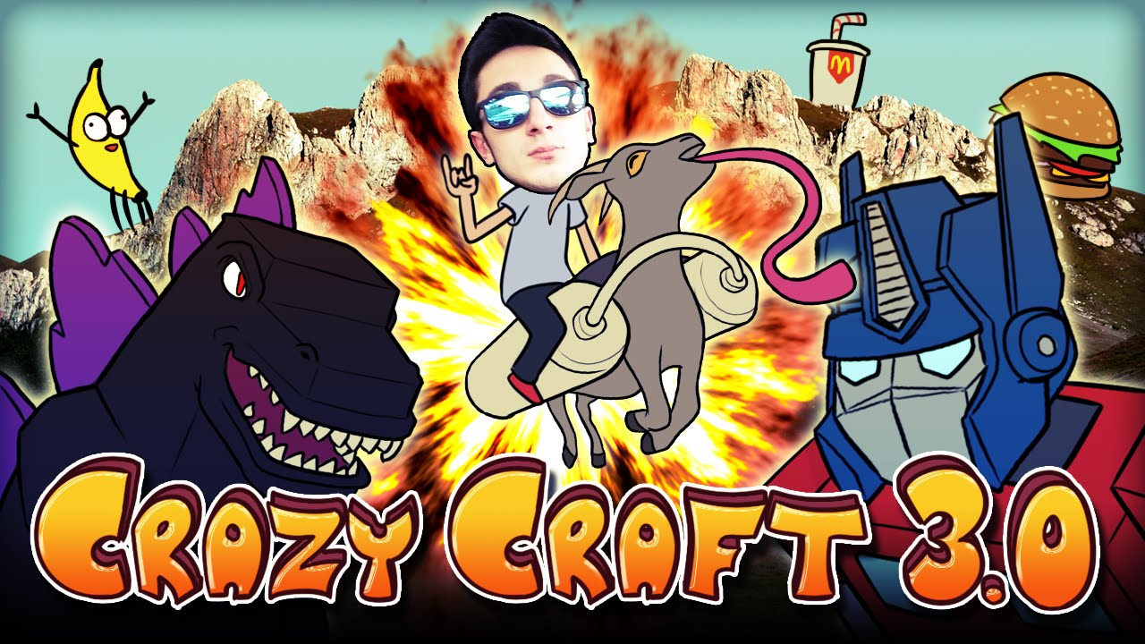 Crazy Craft 3 0 Pack Details Version: 3 0 3 Minecraft