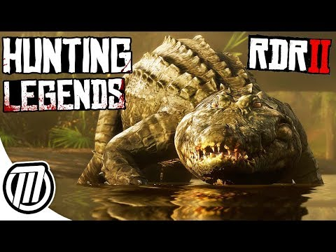 Red Dead Redemption 2: Hunting Dangerous Legendary Animals - Free Roam Gameplay