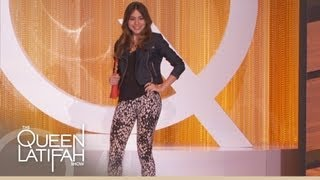 Sofia Vergara's New Fashion Line on The Queen Latifah Show
