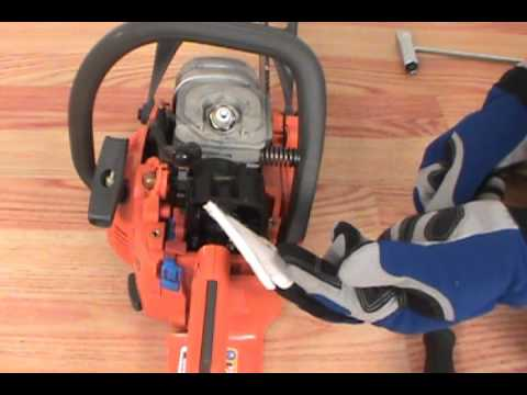replacing the air filter husqvarna chainsaw youtube. Black Bedroom Furniture Sets. Home Design Ideas