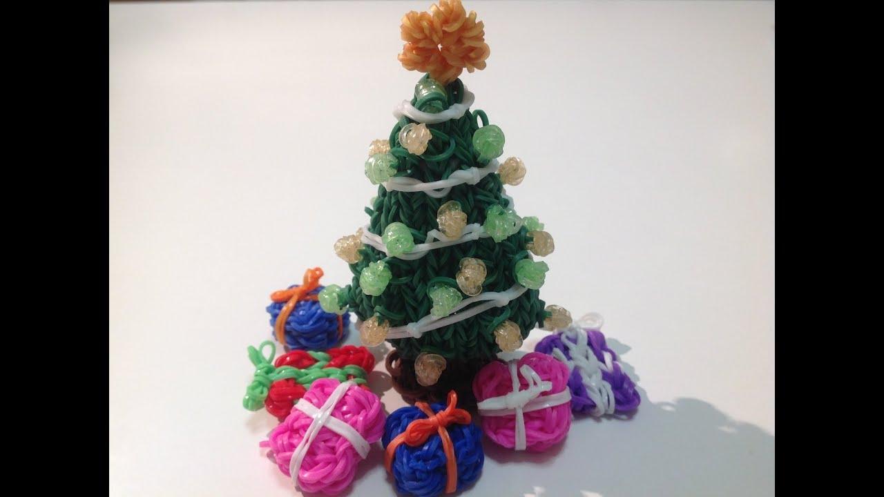 Rainbow Loom Nederlands 3d Kerstboom Deel 2 Youtube