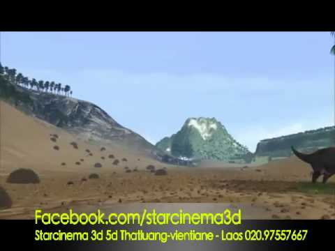 Dinosaur Adventure 4d movie - Starcinema Laos