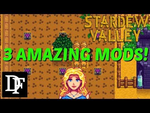 Stardew Valley - 3 Amazing Mods!