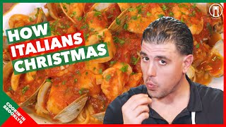 How to Cook Zuppa di Pesce. An Italian Christmas Tradition