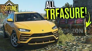 ALL 10 Treasure Chest Locations in Forza Horizon 4 Fortune Island!