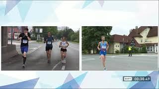 Uz epidemiološke mjere: Održana maratonska trka kroz Sarajevo i Istočno Sarajevo