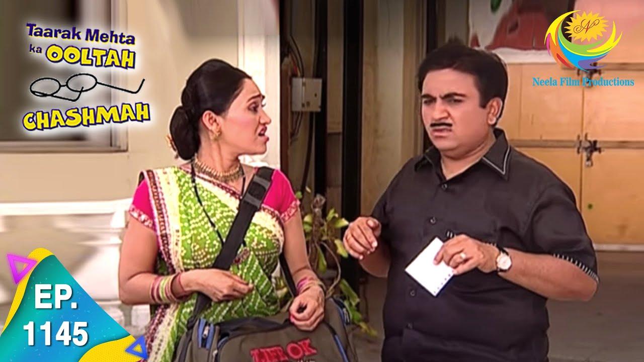 Download Taarak Mehta Ka Ooltah Chashmah - Episode 1145 - Full Episode
