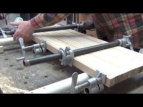 Изготовление мебельных щитов своими руками видео