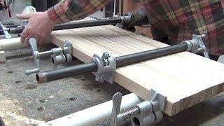 Столярные проекты: изготовление столярного (мебельного) щита(Показывается процесс изготовления столярного щита, используемого в производстве торцевых разделочных..., 2013-04-12T07:49:59.000Z)