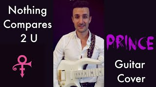"""""""Nothing Compares 2 U """" - PRINCE - Blues Guitar Cover by NOBLE BLACK"""