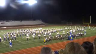 MHS Marching Band - Showcase Performance 2016, Part 1