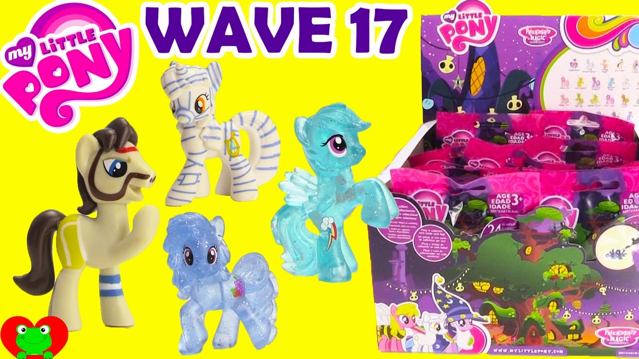 My Little Pony Wave 17 Blind Bags Nightmare Night Youtube