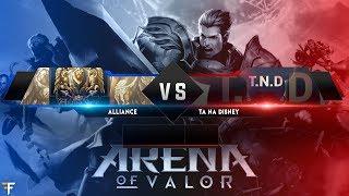 Ta na Disney (BRA) Vs. Alliance (PER) Arena of Valor