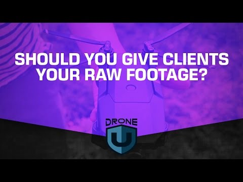 Should you give clients your raw footage?