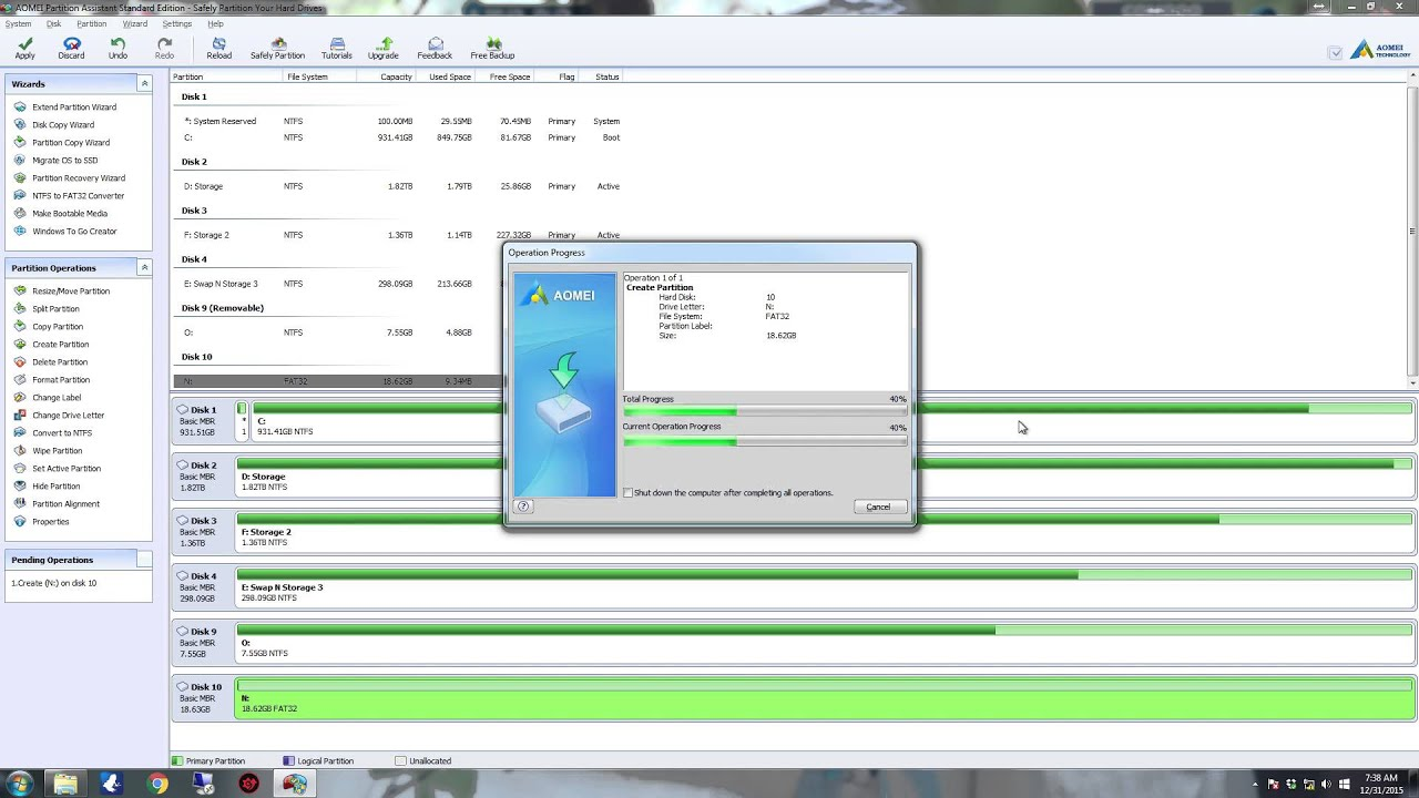 aomei partition assistant professional edition 6.3 crack download