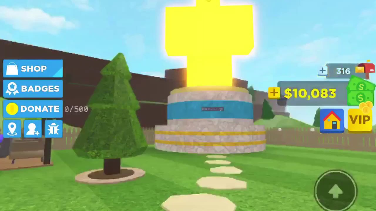 Buying the Golden Statue Home Tycoon 2 0 🏡 (ROBLOX) YouTube