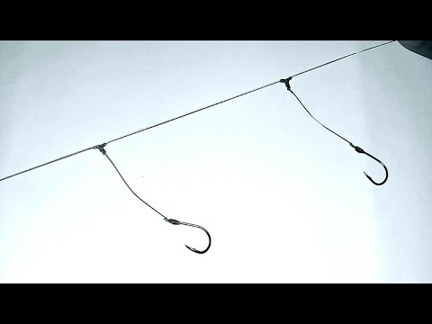 How To Create A Easy Bottom Fishing Rig | No More Tangled Rigs With This Knot ( T-knot Tutorial )