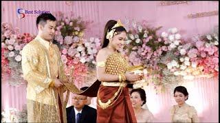 ព្រះថោងតោងស្បៃ, The Cambodia traditional wedding by Best Solution