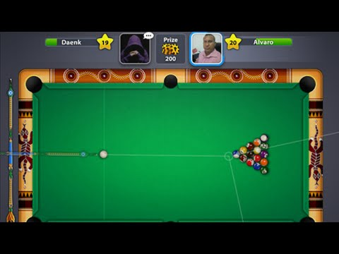 Cara Trik Mudah Menang Main 8 ball poll billiard - YouTube