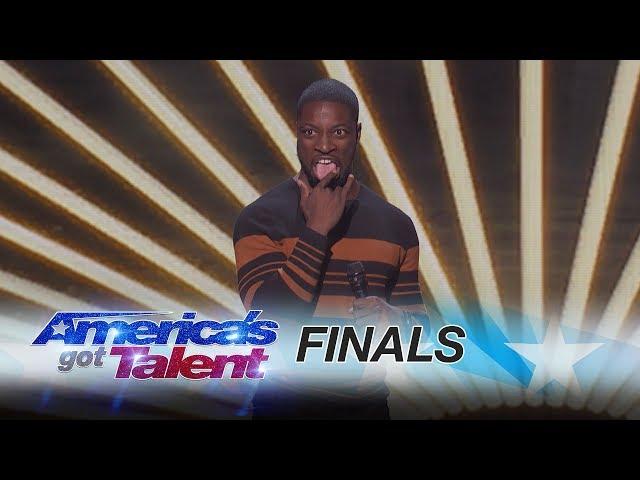 Preacher Lawson: Comedian Recalls A Weird Run-in With A Stranger - America's Got Talent 2017