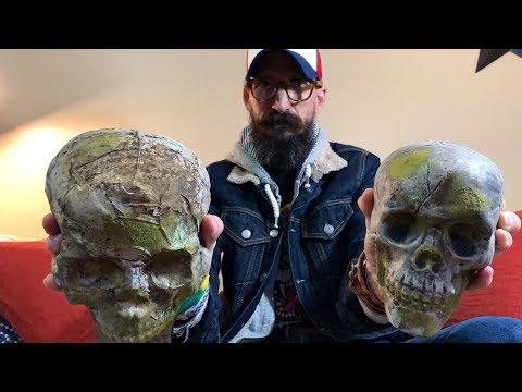 Concrete and cement aging tutorial using Monster Tutorials concrete skulls