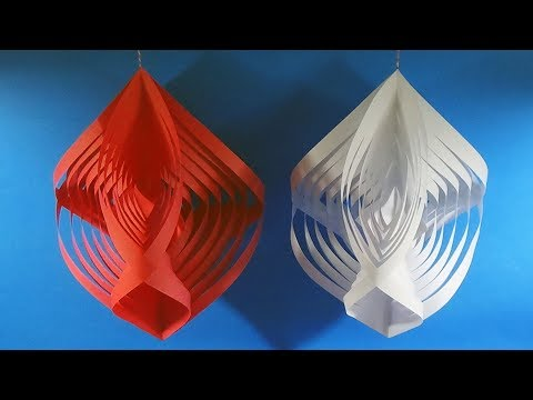 Paper Snowflakes | Easy Snowflakes for Christmas | How to make Paper Star |