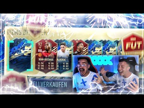 EA GÖNNT in unseren ersten TOTS REWARDS 😱🔥 FIFA 21 FUT CHAMPIONS PACK OPENING!