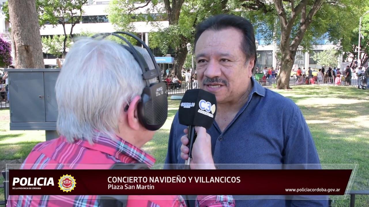 CONCIERTO NAVIDEÑO EN LA PLAZA SAN MARTÍN - Policía de la
