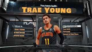 Trae Young Build on NBA 2K20 is a DEMIGOD! 53 Badge Upgrades! Best Guard Build on NBA 2K20!