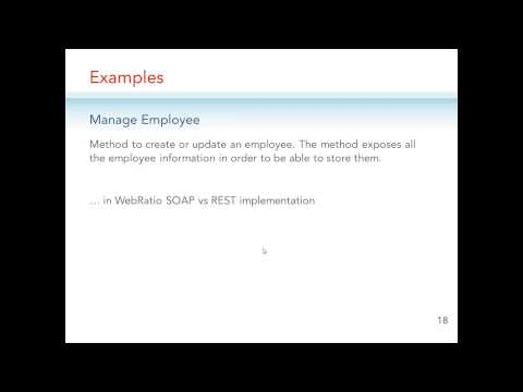 Publishing Web Service with WebRatio | WebRatio Webinar