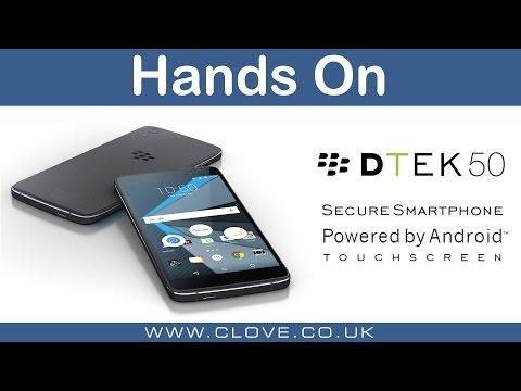 DTEK50 by BlackBerry Hands On