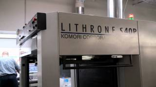 "Absolute Color Komori Lithrone SP/40"" - 10 Color Printing Press"