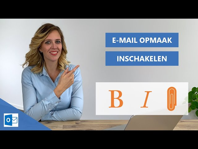 Email opmaak lukt niet | Outlook