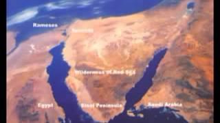 El Éxodo o Cruce del Mar Rojo, descubrimiento arqueológico   Ark Discovery