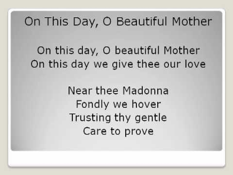 On This Day O Beautiful Mother